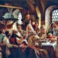 A boyar wedding feast, Konstantin Machovksy