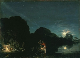 Adam Elsheimer- The Flight Into Egypt