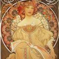 Alphonse Mucha, Reverie (1896)
