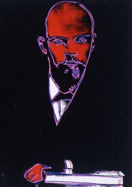 Andy Warhol: Lenin