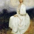 Arthur Hacker, The Girl in White, (1895)