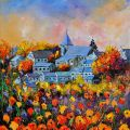 Autumn in Awagne  Painting by Pol Ledent - Autumn in Awagne  Fine Art Prints and Posters for Sale