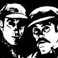 Basil Rathbone & Nigel Bruce as Sherlock Holmes & Dr. Watson