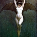 Bat - Woman by Albert-Joseph Penot