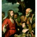 Bernardo Strozzi - The Miracle of the Loaves and Fishes