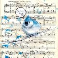Blue Bird Song by Lora Zombie