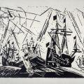 Boat on a River - Lyonel Feininger | FAMSF Explore the Art
