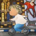 Boy on the bycicle