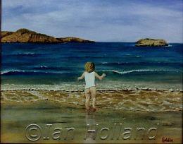 Caitlin Beach Bum by Ian Holland
