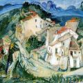 Chaim Soutine View of Cagnes 1925