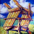 """Chairs on the Cliff"""" by Alyn Federico 