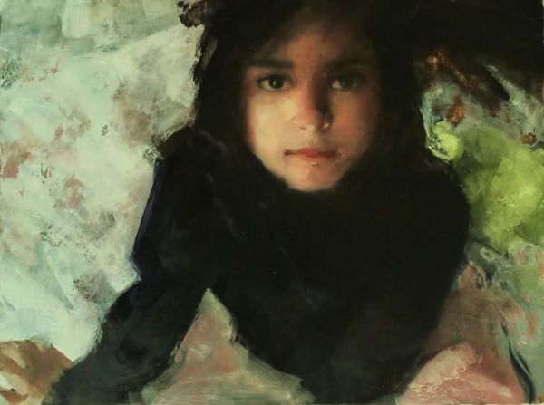 Child - Mark Tennant   Beautiful Portrait and Figure Painting   Pinte… - child-mark-tennant-beautiful-portrait-and-figure-painting-pinte-1418309783_b