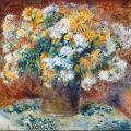 Chrysanthemums - Pierre Auguste Renoir