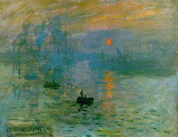 Claude Monet - Impression Sunrise