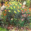 Claude Monet - Ladies in Flowers (1875) The National Gallery in Prague, Czech Republic #art #painting #twitart | Veooz 360