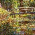 Claude Monet, Le Bassin aux nympheas, harmonie rose
