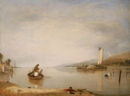 Dead Calm by Augustus Wall Callcott.