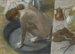 Edgar Degas - Bather