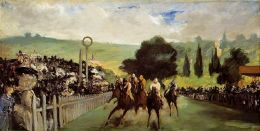 Edouard Manet: The Races at Longchamp 2