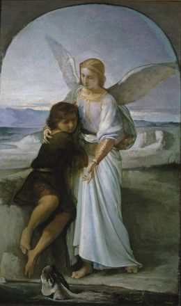 Eduardo Rosales Gallinas: Tobias and the Angel
