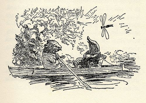 E.H. Shepard's The Wind in the Willows « Drawn! The Illustration ...