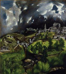 El Greco- View of Toledo at The Metropolitan Museum of Art, NY