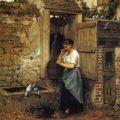 Elizabeth Jane Gardner Bouguereau (American - 1837 - 1922)