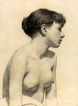 Emanuel Phillips Fox (1865 – 1915, Australian) - Nude Study