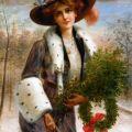 Emile Vernon (1872-1919) - Seasons Greetings.