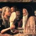 The Presentation in the Temple 1465-66 - Mantegna 1431 -1506