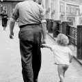Father with daughter without underpant 1959 - KSKI-089