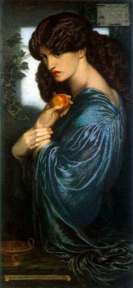 File:Dante Gabriel Rossetti - Proserpine.