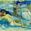 File:Paul Gauguin - Te arii vahine (The Queen of Beauty or The Noble Queen) - Google Art Project.jpg - Wikimedia Commons