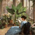Frances Jones Bannerman, The Conservatory, (1883)