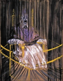 Francis Bacon- Study after Velázquez's Portrait of Pope Innocent X