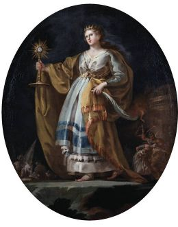 Francisco de Goya y Lucientes: Saint Barbara