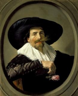 Frans Hals - Portrait of a Man Pieter Tjarck