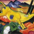 Franz Marc - The Yellow Cow - 1911