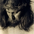 Franz von Stuck - Head of Christ