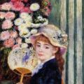 Girl with Fan - Pierre Auguste Renoir - The Athenaeum