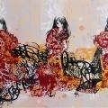 Graf Geisha Triptych by Hush
