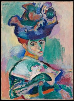 Henri Matisse: Femme au chapeau (Woman with a Hat)