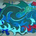 Huron River Grafitti 2