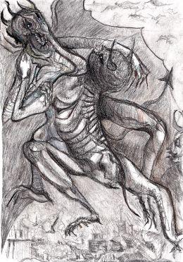 Illustration to Dante