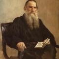 Ilya Efimovich Repin -  Leo Tolstoy