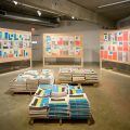 Installation view of Perspectives 164: Stephanie Syjuco: Total Fabrications
