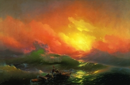"Ivan Aivazovsky ""The Ninth Wave"""