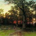Ivan Ivanovich Shishkin (1832-1898) Russian landscape painter