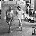 Jacqueline teaching Pablo ballet,