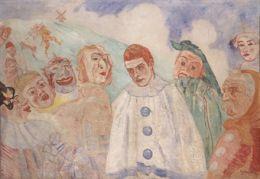 James Ensor: Le désespoir de Pierrot
